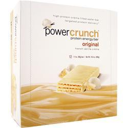 POWER CRUNCH Power Crunch Wafers French Vanilla Creme 12 bars
