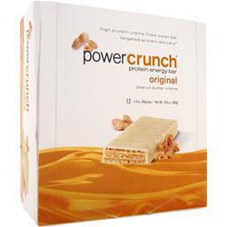 POWER CRUNCH Power Crunch Wafers Peanut Butter Creme 12 bars
