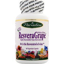 PARADISE HERBS Med-Vita ResveraGrape 60 vcaps