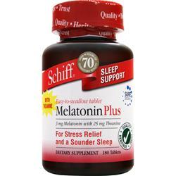 SCHIFF Melatonin Plus 180 tabs