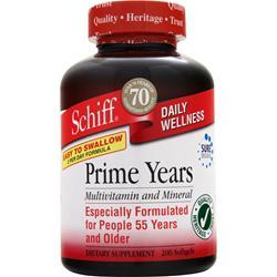 Schiff Prime Years - Multivitamin and Mineral 200 sgels