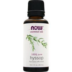 NOW 100% Pure Hyssop Oil 1 fl.oz