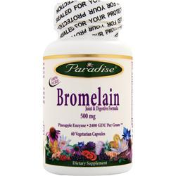 Paradise Herbs Bromelain 60 vcaps