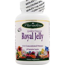 PARADISE HERBS Royal Jelly 60 vcaps