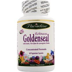 Paradise Herbs Echinacea Goldenseal 60 vcaps