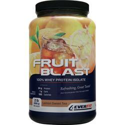4 EVER FIT Fruit Blast the Isolate Lemon Sweet Tea 2 lbs