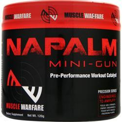 MUSCLE WARFARE Napalm Mini-Gun Fruit Punch 119 grams