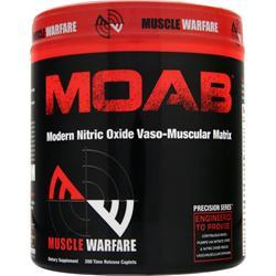 MUSCLE WARFARE MOAB - Modern Nitric Oxide Vaso Muscular Matrix 200 caps
