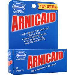 HYLANDS HOMEOPATHIC Arnicaid 50 tabs