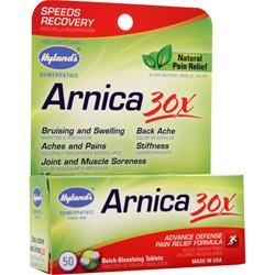 Hylands Homeopathic Arnica 30X 50 tabs