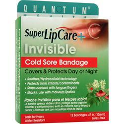 QUANTUM Super LipCare + - Invisible Cold Sore Bandage 12 unit