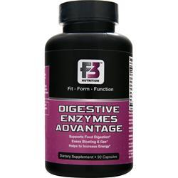 F3 NUTRITION Digestive Enzymes Advantage 90 caps