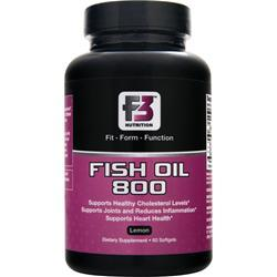 F3 NUTRITION Fish Oil 800 60 sgels