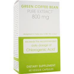 CREATIVE BIOSCIENCE Green Coffee Bean Pure Extract 800 mg 60 vcaps