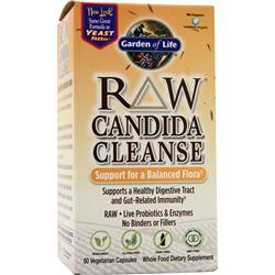 Garden Of Life Raw Candida Cleanse 60 vcaps