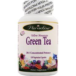 Paradise Herbs Green Tea 120 vcaps