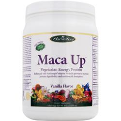 PARADISE HERBS Maca Up - Vegetarian Energy Protein Chocolate 420 grams