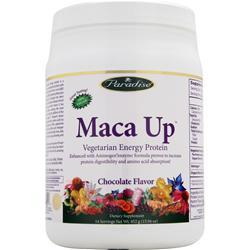 PARADISE HERBS Maca Up - Vegetarian Energy Protein Chocolate 452 grams