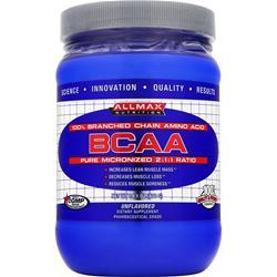 Allmax Nutrition BCAA - Pure Micronized 2:1:1 Ratio Unflavored 14.1 oz