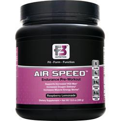 F3 Nutrition Air Speed - Endurance Pre Workout Raspberry Lemonade 13.8 oz