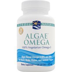 NORDIC NATURALS Algae Omega - 100% Vegetarian Omega 3 120 sgels
