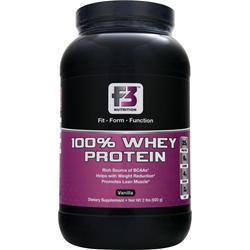 F3 Nutrition 100% Whey Protein Vanilla 2 lbs