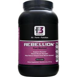 F3 NUTRITION Rebellion - Post Workout Chocolate 2.2 lbs
