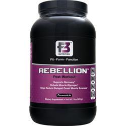 F3 NUTRITION Rebellion - Post Workout Creamsicle 2 lbs