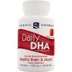 Nordic Naturals Daily DHA Natural Fruit Flavor 30 sgels