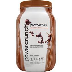 BNRG Power Crunch Proto Whey Cafe Mocha 2.1 lbs