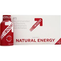 VITALIZELABS Eboost Natural Energy Super Berry 12 bttls