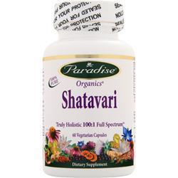 PARADISE HERBS Shatavari 60 vcaps