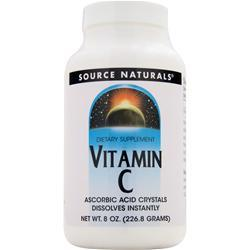 Source Naturals Vitamin C - Ascorbic Acid Crystals 8 oz