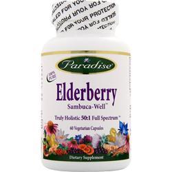 Paradise Herbs Elderberry 60 vcaps