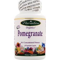 Paradise Herbs Pomegranate 60 vcaps
