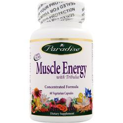 Paradise Herbs Muscle Energy with Tribulus 60 vcaps