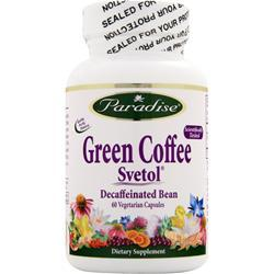 PARADISE HERBS Green Coffee Svetol 60 vcaps