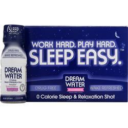 DREAM WATER Sleep Easy - Sleep & Relaxation Shot Snoozeberry (Berry) 12 bttls