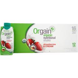Orgain Orgain RTD Strawberries & Cream 12 cans