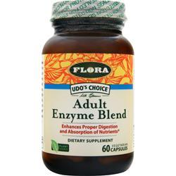 Flora Udo's Choice Adult Enzyme Blend 60 vcaps