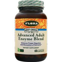 FLORA Udo's Choice Advanced Adult Enzyme Blend 60 vcaps