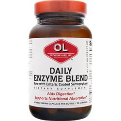 OLYMPIAN LABS Daily Enzyme Blend 60 vcaps