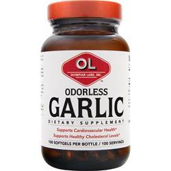 OLYMPIAN LABS Garlic - Odorless 100 sgels