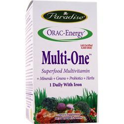 Paradise Herbs Orac-Energy Multi One with Iron 60 vcaps