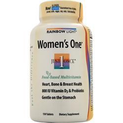 RAINBOW LIGHT Just Once Women's One Multivitamin/Mineral 150 tabs