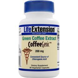 Life Extension CoffeeGenic - Green Coffee Extract (200mg) 90 vcaps