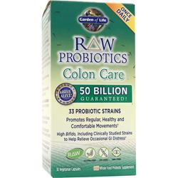 GARDEN OF LIFE Raw Probiotics Colon Care 30 vcaps