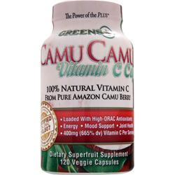 GREENS PLUS Camu Camu Vitamin C Caps 120 vcaps