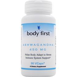 Body First Ashwagandha (450mg) 90 vcaps