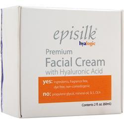 Hyalogic Episilk - Premium Facial Cream with Hyaluronic Acid 2 fl.oz